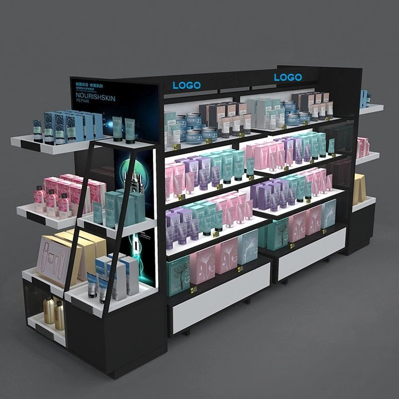display fixture for cosmetic shop