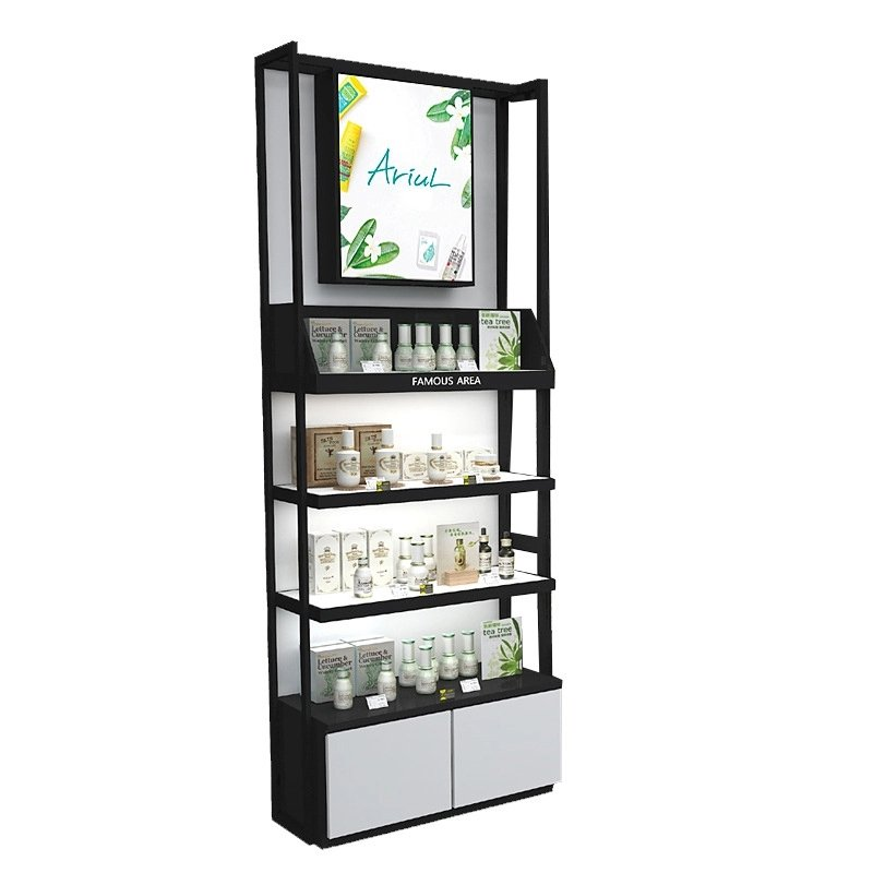 makeup display stand with LED