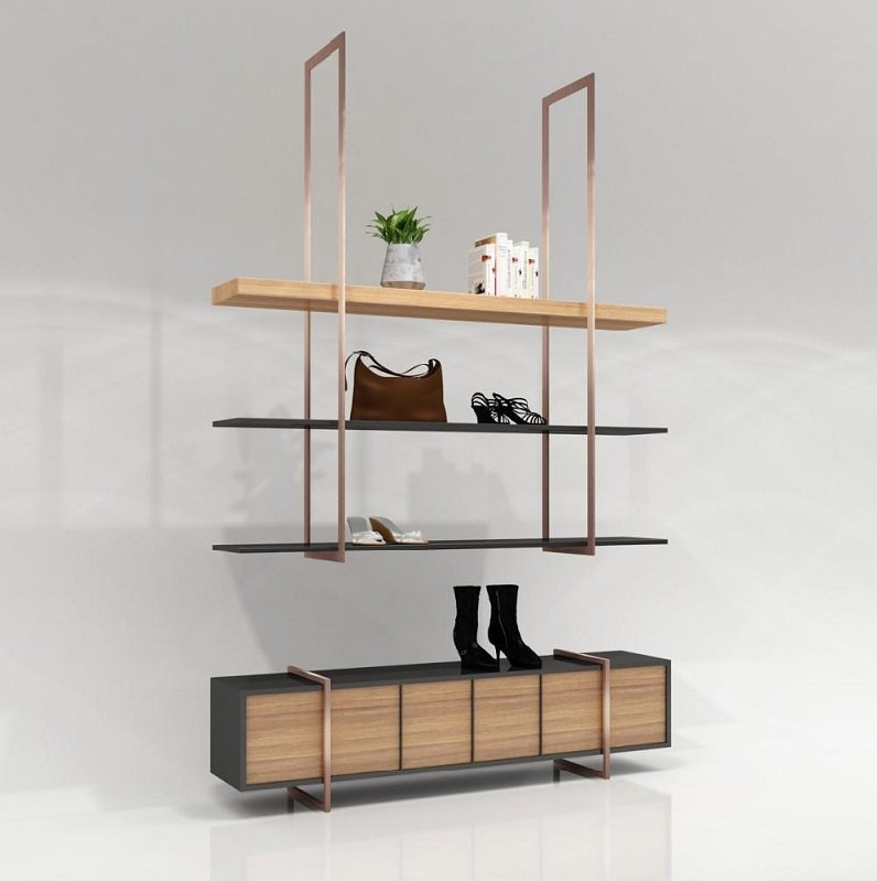 shoes display stands