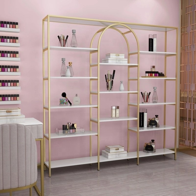 shop display for cosmetics